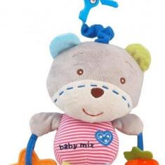Jucarie Muzicala Din Plus Bear - Jucarie zornaitoare Baby Mix