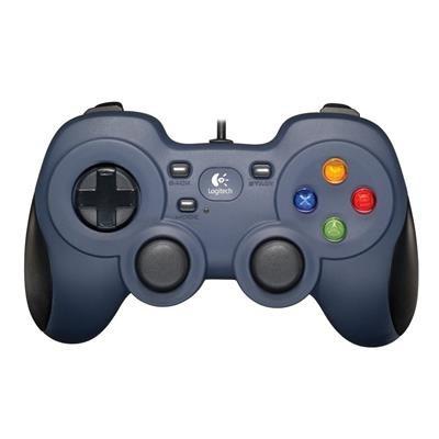 Gamepad Logitech F310 Albastru Pc foto