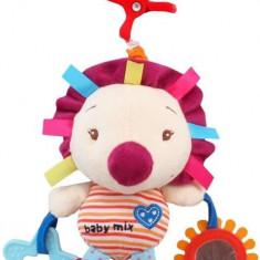 Jucarie Muzicala Din Plus Hedgehog - Jucarie zornaitoare Baby Mix