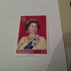 Anglia/jersey 1977 regina / serie MNH - Timbre straine, Nestampilat