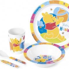 Set Pentru Masa Melamina 5 Piese Winnie The Pooh Lulabi 9202900