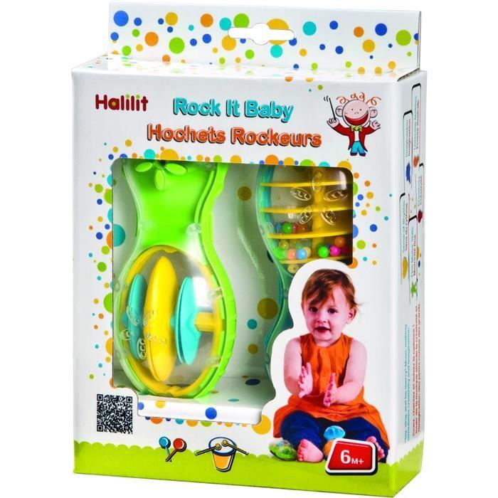 Set Jucarii Muzicale Rock It Baby Halilit Ms4302