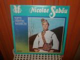 -Y- NICOLAE SABAU - BATE VANTUL DORULUI   - DISC LP VINYL