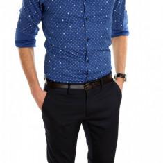 Camasa tip Zara - camasa barbati - camasa slim - camasa fashion - cod 6218, Marime: M, Culoare: Din imagine, Maneca lunga