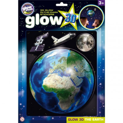 Stickere 3D - Planeta Pamant The Original Glowstars Company B8105 foto
