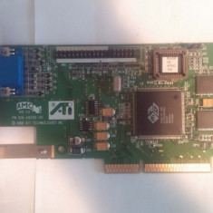 Placa video AGP2x 8MB ATI 3d rage IIc ver2 - Placa video PC ATI Technologies
