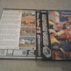 Virtua Fighter 2 - SEGA SATURN ( GameLand ) - Jocuri Sega, Actiune, 3+, Multiplayer