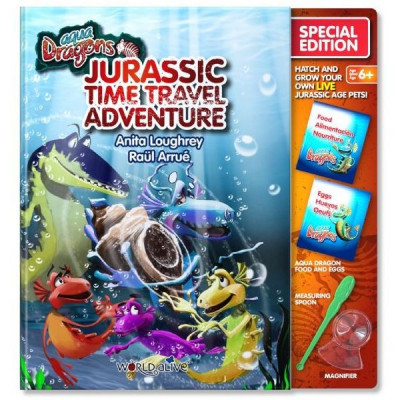 Set Reincarcare Aqua Dragons Jurassic Time Travel Adventure World Alive W4051 foto
