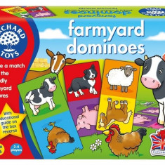 Joc Educativ Domino Ferma Farmyard Dominoes orchard toys
