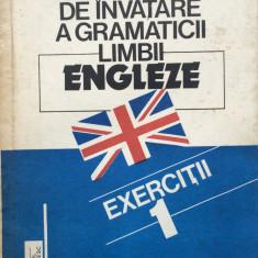 METODA RAPIDA DE INVATARE A GRAMATICII LIMBII ENGLEZE. Exercitii 1- Monica Visan