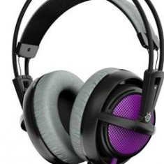 Casti Gaming Steelseries Siberia 200 Sakura Purple Pc - Casca PC Steelseries, Casti cu microfon