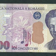ROMANIA 50000 50.000 LEI 2000 ( prefix 00 ) [4]