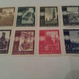 Austria 1947 constructii/ serie MH, Nestampilat