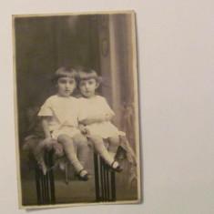 GE - Ilustrata fotografie veche PLOIESTI PLOESTI copii baietei 1924, Necirculata