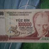 Turcia - 100000 lire 1970 (24818911), Europa