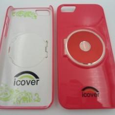 Capac spate iCOVER iPhone 5 Corai - Husa Telefon Apple, iPhone 5/5S/SE