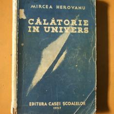 Calatorie in Univers Mircea Herovanu Bucuresti 1937