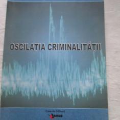 Ioan Iacobuta - Oscilatia Criminalitatii - Carte Criminologie