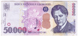 Bancnota 50.000 lei 2000 ( 50000 lei 2000 )  George Enescu Sfinxul Bucegi (1)