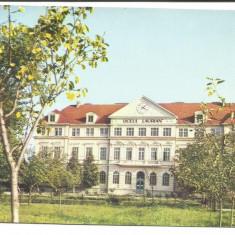 @carte postala(ilustrata) -BOTOSANI-Liceul Laurian - Carte postala tematica, Circulata, Printata