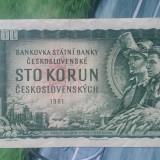 CEHOSLOVACIA - 100 KORUN 1961, Europa
