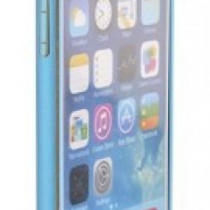 Bumper aluminiu STYLE iPhone 6 Albastru - Bumper Telefon Apple