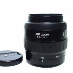 Obiectiv MINOLTA AF 35-70mm 1: 3.5 - 4.5 compatibil DSLR SONY ALPHA (A-mount) - Obiectiv DSLR, All around, Autofocus