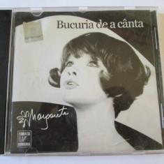 CD CU AUTOGRAF MARGARETA PISLARU ALBUMUL BUCURIA DE A CANTA, RADIO ROMANIA 2008 - Muzica Pop electrecord