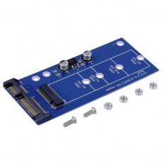 Adaptor convertor NGFF M.2 SSD la SATA 3 22 pini 2.5 inch sata SSD laptop - Adaptor interfata PC