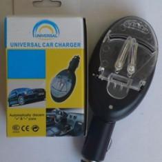 Incarcator universal auto pentru baterii
