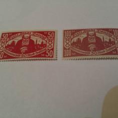 Germania/danzig 1923 silueta/ serie MH/, Nestampilat