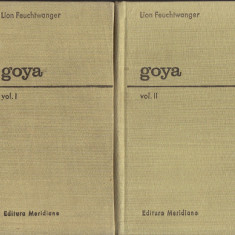 Lion Feuchtwanger - Goya.Sau drumul spinos al cunoasteriiVol. I + Vol. II - 35038 - Carte Monografie