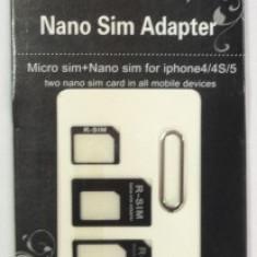 Adaptor SIM - MicroSIM - NanoSIM - Adaptor microsim