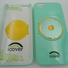 Capac spate iCOVER iPhone 5 Verde - Husa Telefon Apple, iPhone 5/5S/SE