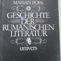 Marian Popa - Geschichte Der Rumanischen Literatur - Dictionar Altele