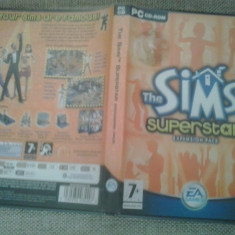 Joc PC - The Sims - Superstar - Extension pack ( GameLand ) - Jocuri PC Electronic Arts, Simulatoare, 12+, Single player