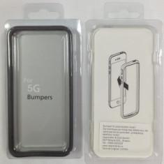 Bumper fit case iPhone 5 / 5S Negru - Bumper Telefon Apple