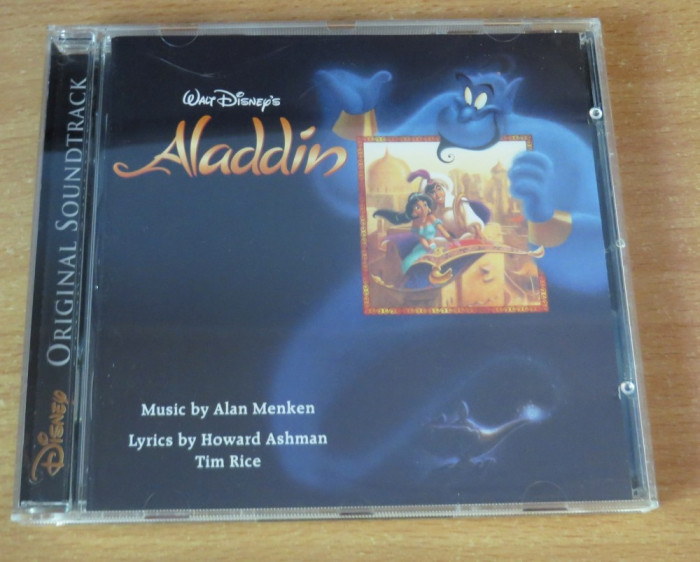 Aladdin Soundtrack CD foto mare