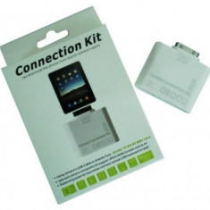 Kit conectare 5 in 1 camera foto si USB pentru iPad / iPad 2 / iPad 3 - Adaptor Tableta Apple