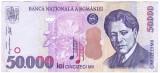 Bancnota 50.000 lei 2000 ( 50000 lei 2000 )  George Enescu Sfinxul Bucegi VF+(2)