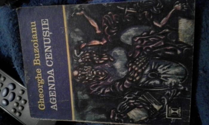 AGENDA CENUSIE  DE GHEORGHE BUZOIANU