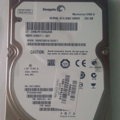 Hard disk HDD 250GB 2.5inch laptop SATA Seagate ST9250315AS 5400RPM - HDD laptop Seagate, 200-299 GB