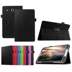 Husa tip stand ptr. Samsung Galaxy Tab E 9.6 T560/T561+Folie+Touch Pen - Husa Tableta, 9.6 inch