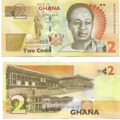 GHANA- 2 CEDIS 2015- NEW- UNC!! - bancnota africa