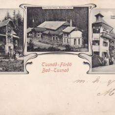 TUSNAD, BAILE TUSNAD, CLASICA, CIRCULATA SEP. 1905 - Carte Postala Transilvania pana la 1904, Printata