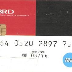 Card BRD MAESTRO - pentru colectionari - Card Bancar