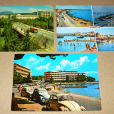 Set 3 vederi - oras - masina - Iugoslavia - 2+1 gratis - RBK12362 - Carte postala tematica, Circulata, Fotografie