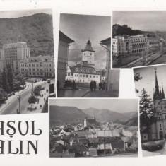 BRASOV, ORASUL STALIN, R.P.R., ED. COMBINATUL POLIGRAFIC CASA SCANTEII - Carte Postala Transilvania dupa 1918, Necirculata, Fotografie