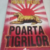 HENRY MEIGS-POARTA TIGRILOR - Carte politiste