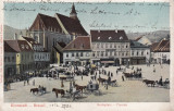 BRASOV , PIATA , TARG , MAGAZINE , TRASURI ,CLASICA , CIRCULATA  1904, Printata